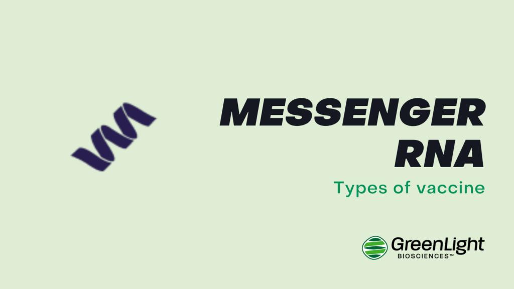 Messenger RNA vaccine